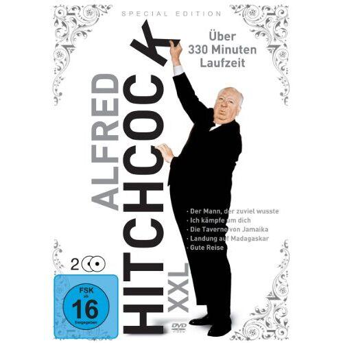 Alfred Hitchcock - Alfred Hitchcock XXL [2 DVDs] - Preis vom 23.01.2021 06:00:26 h