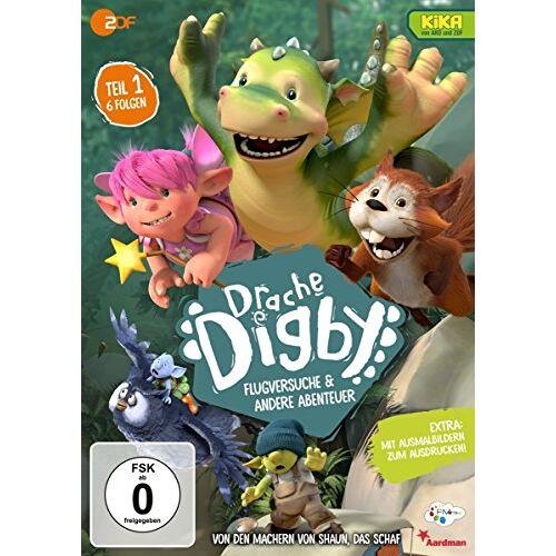 Various - Drache Digby - Flugversuche & andere Abenteuer (Staffel 1 Volume 1) - Preis vom 20.10.2020 04:55:35 h