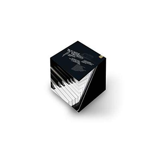 - 25 klassische Klavierkonzerte (+ CD) [7 DVDs] - Preis vom 18.04.2021 04:52:10 h