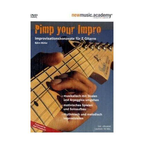 - Pimp Your Impro. Improvisationskonzepte für E-Gitarre - Preis vom 18.04.2021 04:52:10 h