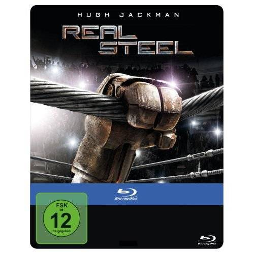 Shawn Levy - Real Steel - Steelbook [Blu-ray] - Preis vom 29.09.2020 04:52:24 h