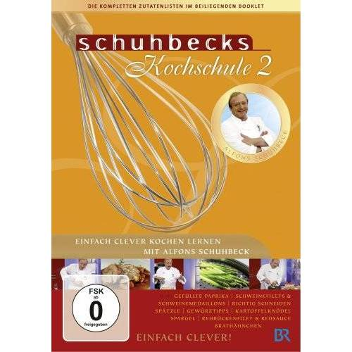 Alfons Schuhbeck - Schuhbecks Kochschule 2 [2 DVDs] - Preis vom 21.10.2020 04:49:09 h
