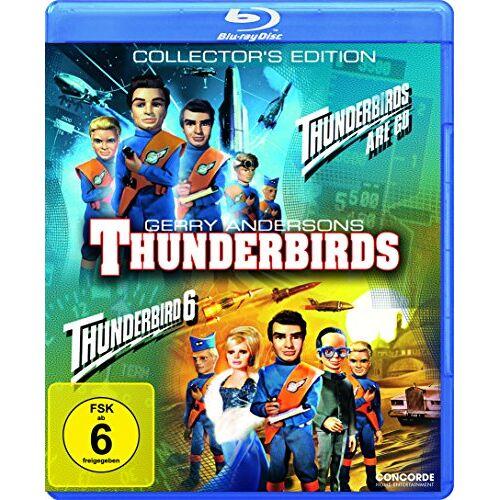 David Lane - Thunderbirds Are Go/Thunderbird 6 [Blu-ray] [Collector's Edition] - Preis vom 06.09.2020 04:54:28 h