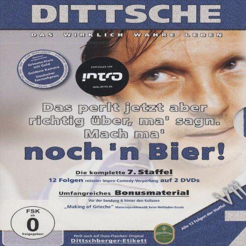 Olli Dittrich - Dittsche: Das wirklich wahre Leben - Die komplette 7. Staffel [2 DVDs] - Preis vom 14.05.2021 04:51:20 h