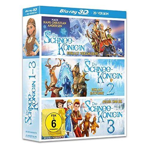 Vladlen Barbe - Die Schneekönigin 1-3 Box (3 Blu-ray 3D + 3 Blu-ray 2D) - Preis vom 26.02.2021 06:01:53 h
