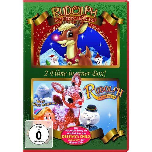 - Rudolph mit der roten Nase / Rudolph mit der roten Nase: Wie alles begann [2 DVDs] - Preis vom 20.10.2020 04:55:35 h