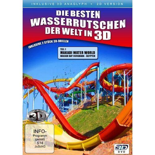 - Die besten Wasserrutschen der Welt in 3D ( 2D und 3D anaglyph - inkl. 2 Brillen) - Preis vom 20.10.2020 04:55:35 h