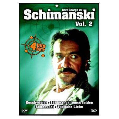 Hajo Gies - Schimanski Vol. 2 [4 DVDs] - Preis vom 16.01.2021 06:04:45 h