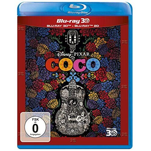 Lee Unkrich - Coco - Lebendiger als das Leben! (3D Blu-ray +Blu-ray 2D) - Preis vom 21.01.2021 06:07:38 h