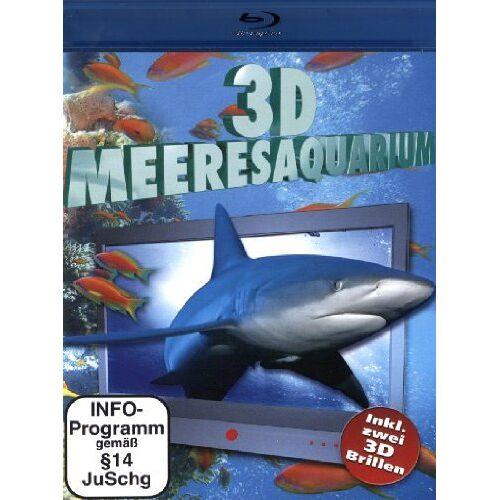 - 3D Meeresauqarium (+ 2 3D-Brillen) [Blu-ray] - Preis vom 07.05.2021 04:52:30 h