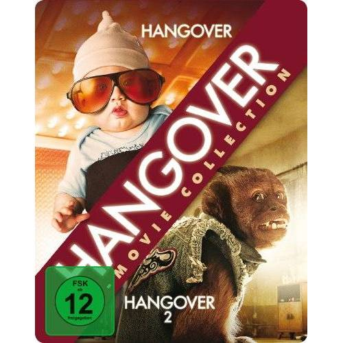 - Hangover Movie Collection - Steelbook (Hangover / Hangover 2) [2 Blu-rays] - Preis vom 05.03.2021 05:56:49 h