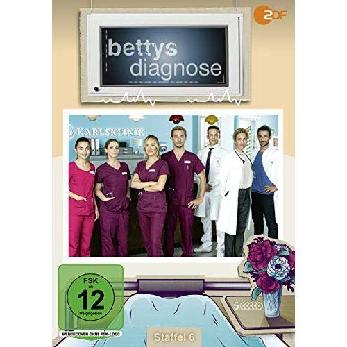 Katrin Schmidt - Bettys Diagnose - Staffel 6 [5 Discs] - Preis vom 15.04.2021 04:51:42 h