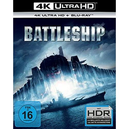 Peter Berg - Battleship  (4K Ultra HD) (+ BR) [Blu-ray] - Preis vom 10.09.2020 04:46:56 h