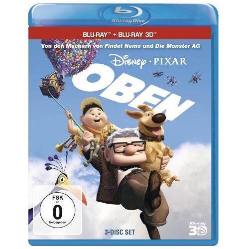 Peter Docter - Oben (+ Bonus-Disc + Blu-ray 2D) [Blu-ray 3D] - Preis vom 10.09.2020 04:46:56 h