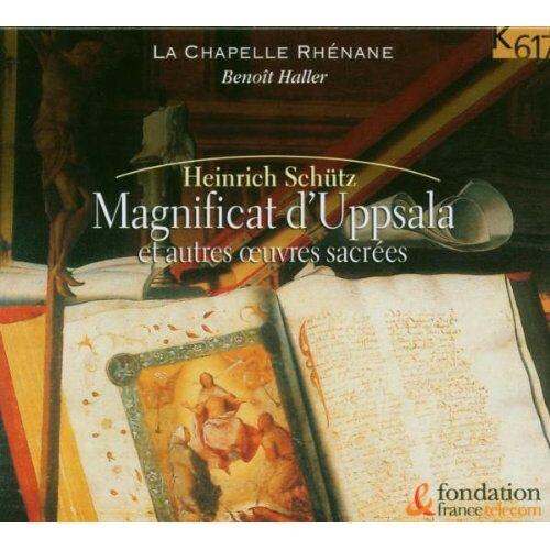 Haller / La Chapelle Rhenane - Magnificat d'Uppsala - Preis vom 16.06.2021 04:47:02 h