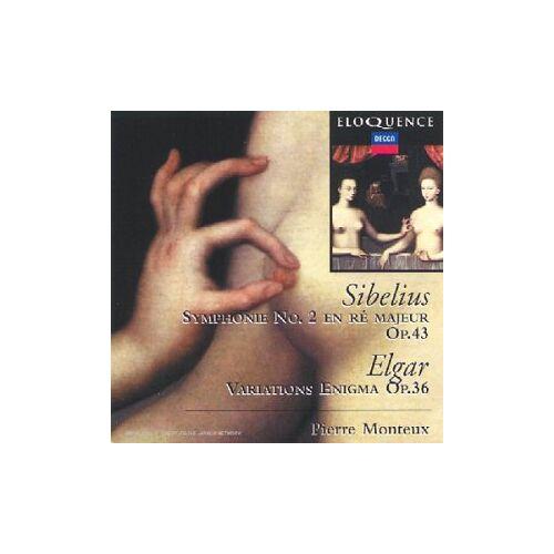 Sibelius - Sibelius/Elgar/Sinf.2 - Preis vom 09.06.2021 04:47:15 h