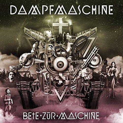 Dampfmaschine - Bete zur Maschine (inkl. CD) [Vinyl LP] - Preis vom 25.07.2021 04:48:18 h