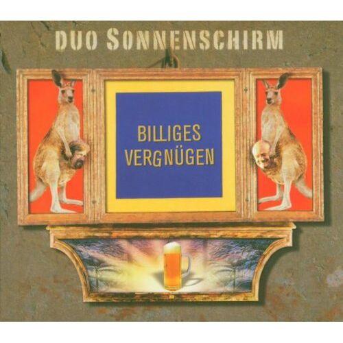 Duo Sonnenschirm - Billiges Vergnügen - Preis vom 22.09.2021 05:02:28 h