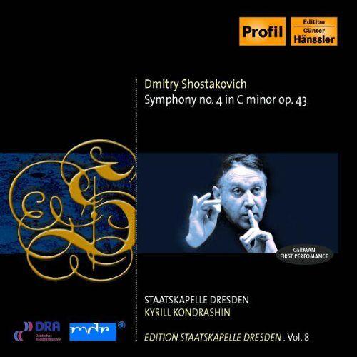 Kondrashin - Symphonie Nr. 4 - Preis vom 18.06.2021 04:47:54 h