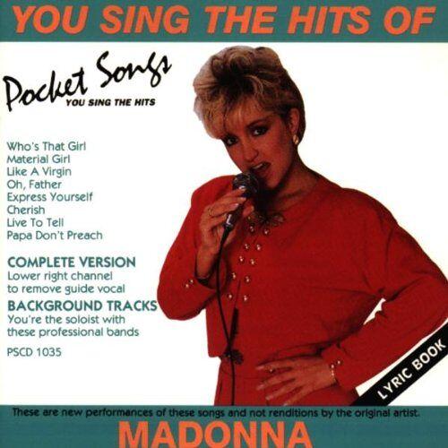 Madonna - Hits Of Madonna [KARAOKE] - Preis vom 19.06.2021 04:48:54 h