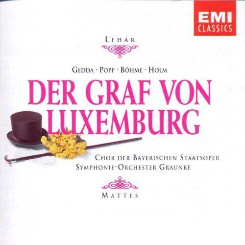 Gedda - Lehar: Der Graf von Luxemburg - Preis vom 19.06.2021 04:48:54 h