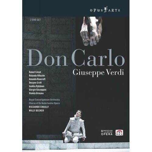 Misjel Vermeiren - Verdi - Don Carlo [2 DVDs] - Preis vom 17.06.2021 04:48:08 h