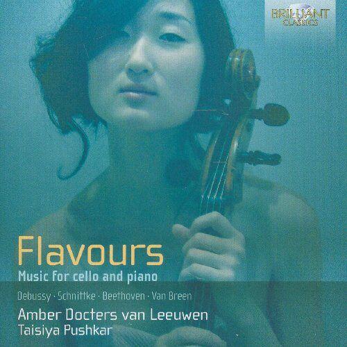 Van Leeuwen, Amber Docters - Flavours: Musik für Cello und Klavier - Preis vom 26.07.2021 04:48:14 h