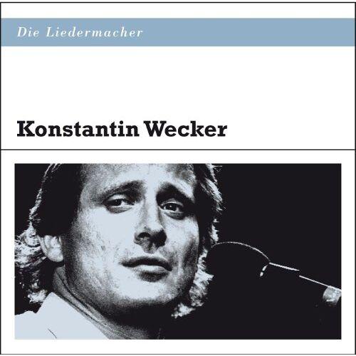 Konstantin Wecker - Die Liedermacher: Konstantin Wecker - Preis vom 11.10.2021 04:51:43 h