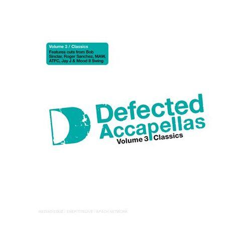 Defected Acapellas Volume - Defected Acapellas 3 - Preis vom 23.07.2021 04:48:01 h
