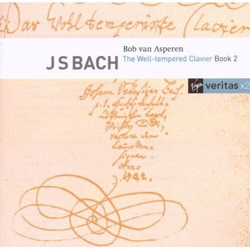 Asperen, Bob Van - Das Wohltemperierte Klavier II - Preis vom 19.06.2021 04:48:54 h