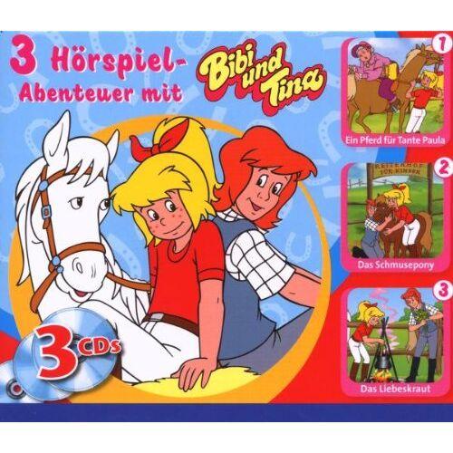 Bibi und Tina - Bibi+Tina 3 CD Box - Preis vom 18.06.2021 04:47:54 h
