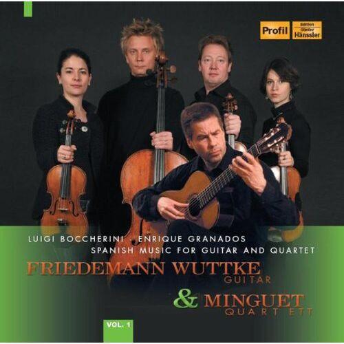 Friedemann Wuttke - Friedemann Wuttke & Minguet Quartett Vol.1 - Preis vom 13.06.2021 04:45:58 h