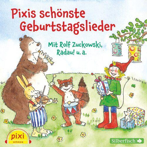 Rolf Zuckowski - Pixis schönste Geburtstagslieder: 1 CD - Preis vom 14.06.2021 04:47:09 h