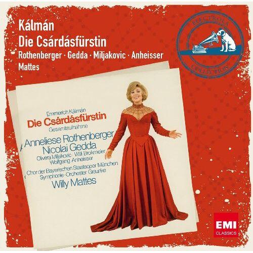 Rothenberger - Die Csardasfürstin - Preis vom 11.06.2021 04:46:58 h