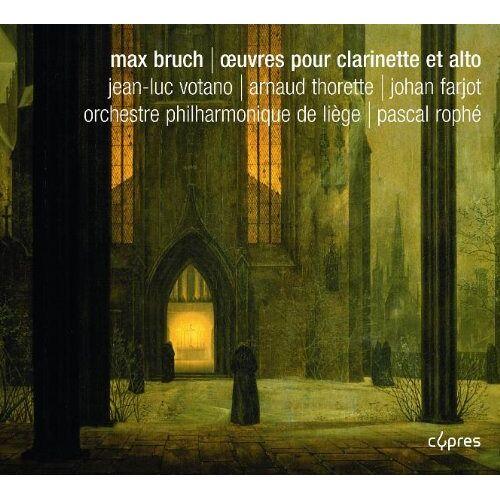 Jean-Luc Votano (Klarinette) - Max Bruch: Werke für Klarinette und Bratsche - Preis vom 11.10.2021 04:51:43 h