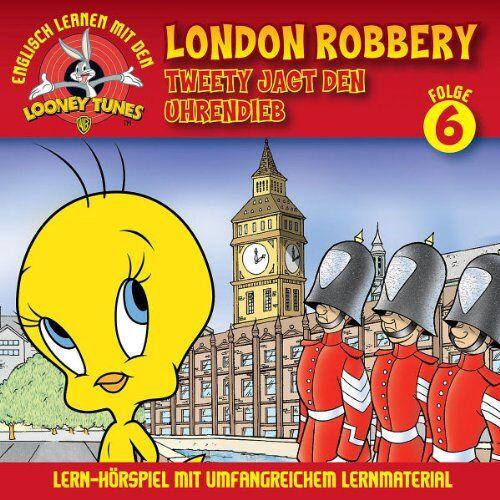 Looney Tunes: Lern-Hörspiel mit Tweety - 06: Tweety Jagt Den Uhrendieb/London Robbery - Preis vom 20.06.2021 04:47:58 h