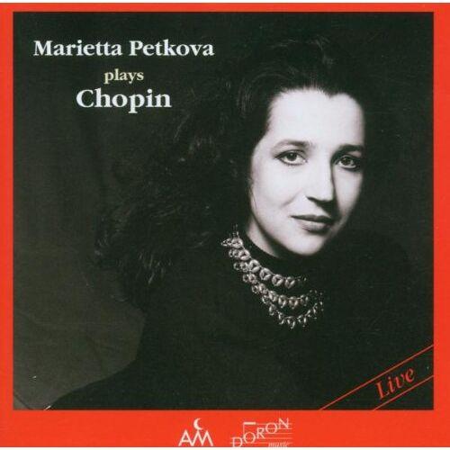 Marietta Petkova - Petkova Plays Chopin - Preis vom 20.06.2021 04:47:58 h
