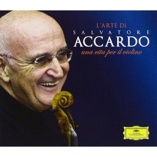 Salvatore Accardo - L'arte Di Salvatore Accardo - una vita per il violino - Preis vom 11.06.2021 04:46:58 h