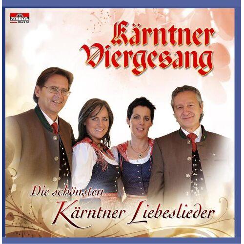 Kärntner Viergesang - Die Schönsten Kärntner Liebeslieder - Preis vom 14.06.2021 04:47:09 h