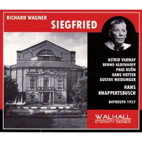 Siegfried Wagner - Siegfried: Varnay-Aldenhoff-Kuen-Hotter - Preis vom 09.06.2021 04:47:15 h