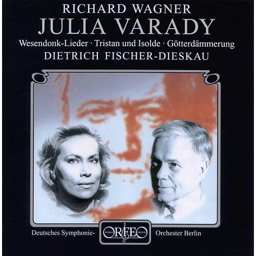 Julia Varady - Wagner Wesendonk-Lieder Var - Preis vom 17.06.2021 04:48:08 h