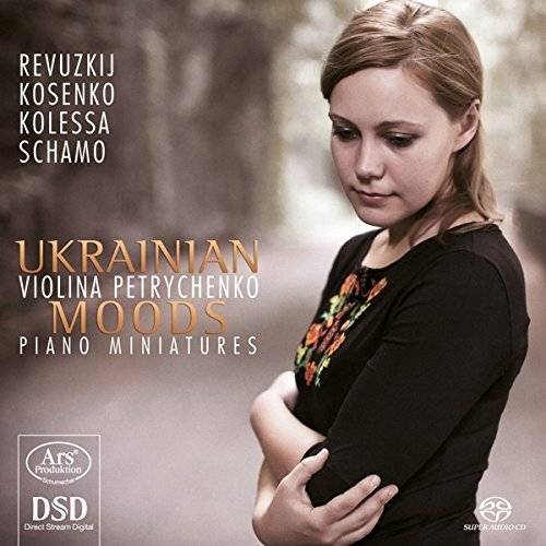 Violina Petrychenko - Ukrainian Moods - Klavier Miniaturen - Preis vom 19.06.2021 04:48:54 h