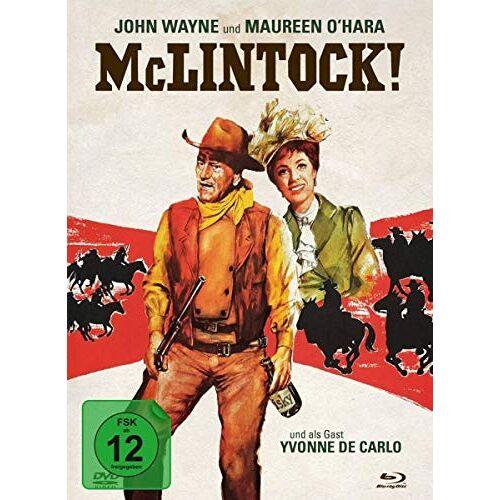 Andrew V. McLaglen - McLintock - 2-Disc Limited Collector's Edition im Mediabook (Blu-ray + DVD) - Preis vom 16.05.2021 04:43:40 h