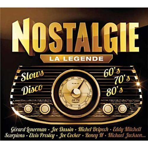 Nostalgie La Legende - Best of Nostalgie - Preis vom 13.10.2021 04:51:42 h