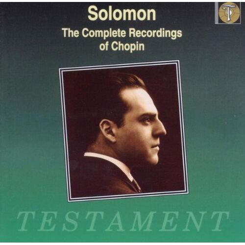 Solomon - Solomon spielt Chopin - Preis vom 28.07.2021 04:47:08 h