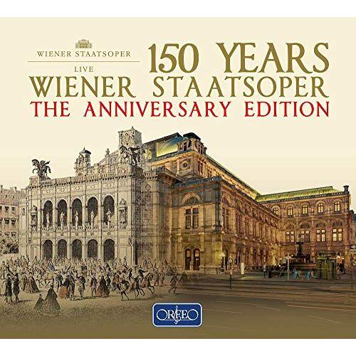 Chor & Orchester der Wiener Staatsoper - 150 Jahre Wiener Staatsoper - Die Jubiläumsausgabe der Wiener Staatsoper 1955 - 2016 [22 CD-Box] - Preis vom 19.06.2021 04:48:54 h