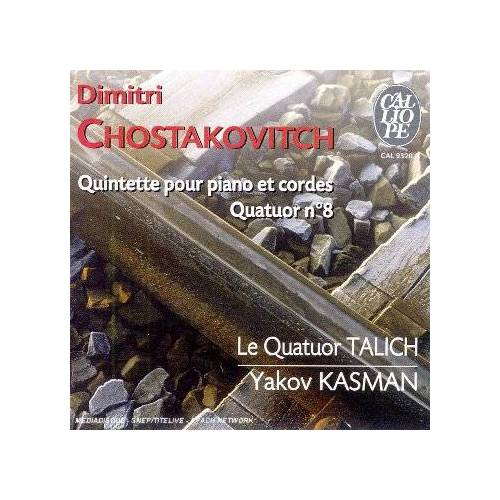 Talich Quart. - Quintette Piano & Cordes/Quart.8 - Preis vom 20.06.2021 04:47:58 h