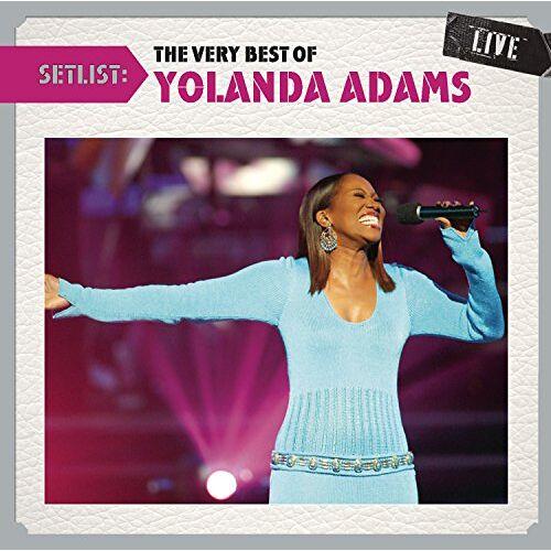 Yolanda Adams - Setlist:the Very Best of Yolan - Preis vom 13.06.2021 04:45:58 h