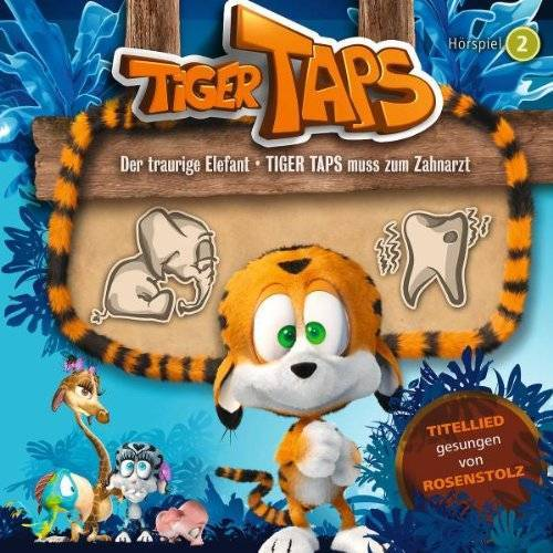 Tiger Taps - 02: der Traurige Elefant/Taps Muss Zum Zahnarzt - Preis vom 11.06.2021 04:46:58 h