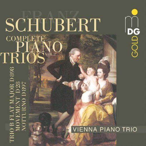Wiener Klaviertrio - Klaviertrios Vol.2 - Preis vom 19.06.2021 04:48:54 h